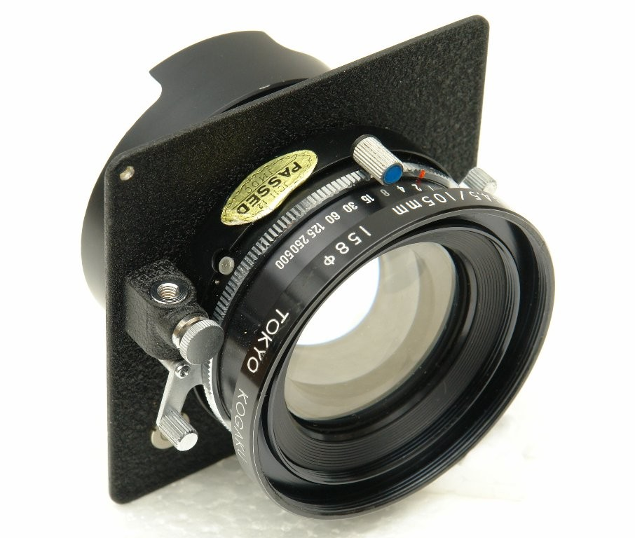 Lens with shutter release adapter