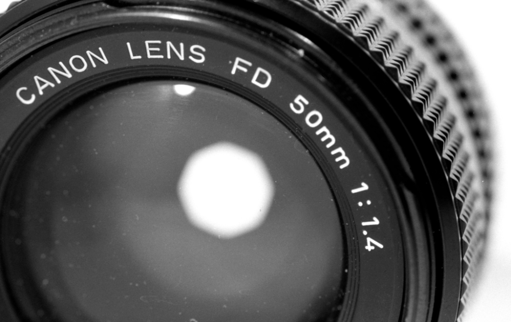 Canon FD 50mm f/1.4 lens