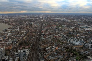 Railways leaving London Bridge Station