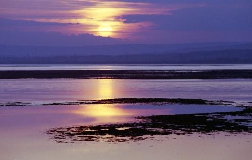 Severn Beach sunset