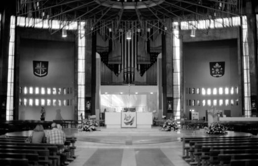 Liverpool Metropolitan Cathedral interior