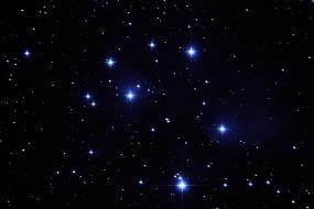 M45 Pleiades cluster