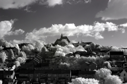 Troopers Hill in infrared