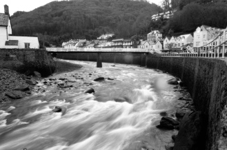 East Lyn River at Lynmouth