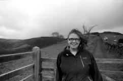Hannah on Exmoor