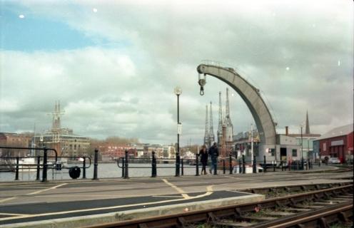 Bristol dock cranes
