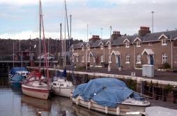 Boats in Bristol dock
