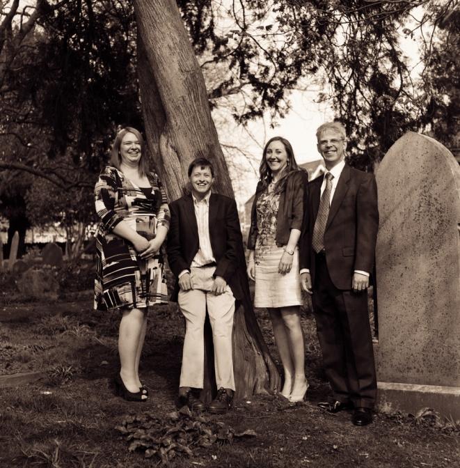 Hannah, Matt, Emma & Ed