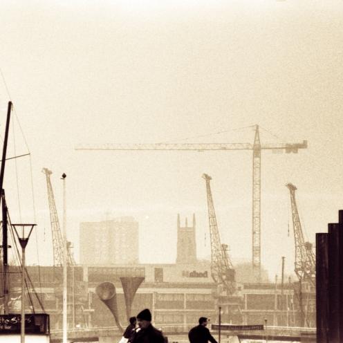 Bristol harbour cranes