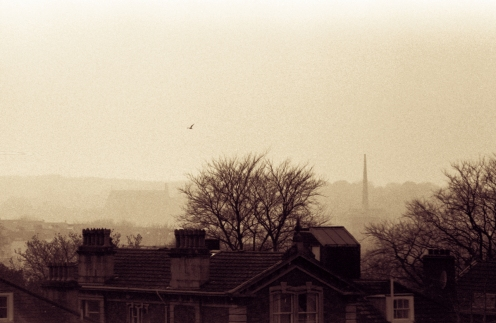 Clifton on a misty morning