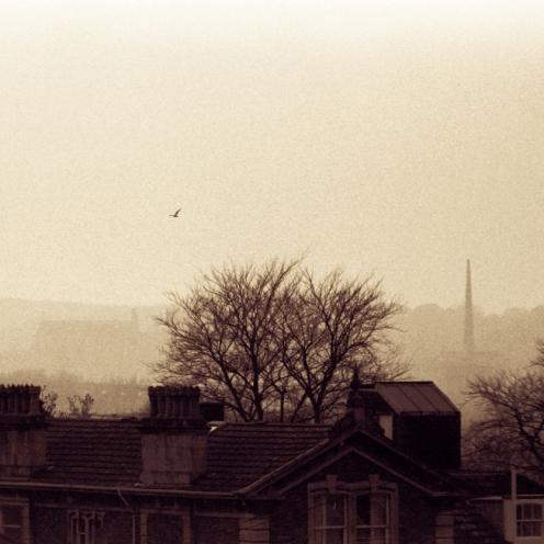 Clifton on a misty morning