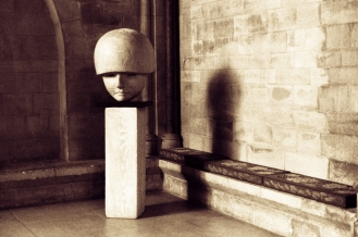 Exeter cathedral sculpture