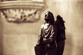 Exeter cathedral angel