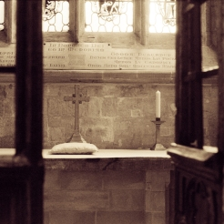 Exeter cathedral chapel