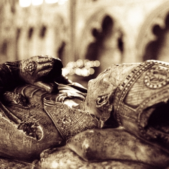 Exeter cathedral tomb