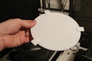 Circular diffuser