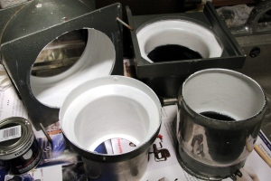 Enlarger interior paint