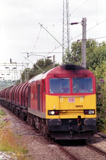 60059 passing Dudley Port