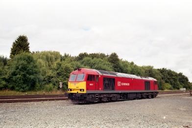 60017 at rest at Kingsbury