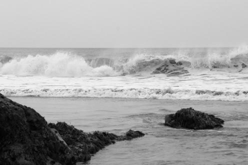 Waves at Bude