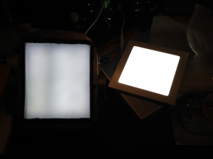 Comparison of LED panels