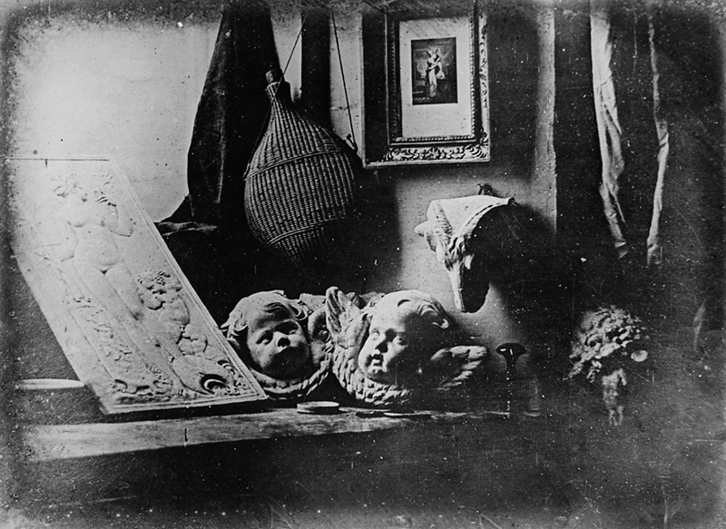 Still life with plaster casts (1837)