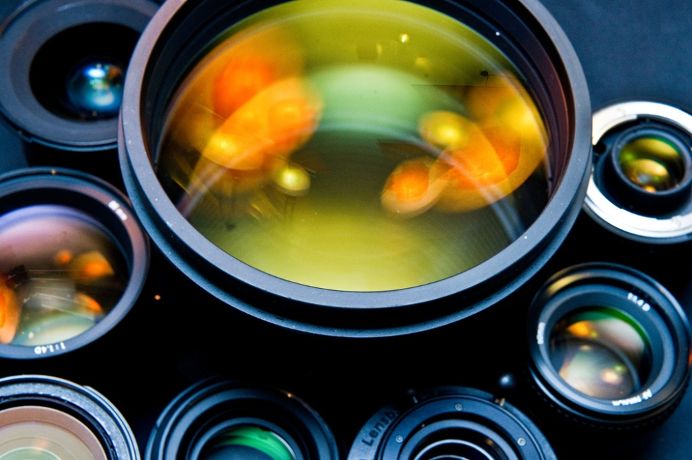 Coated lenses