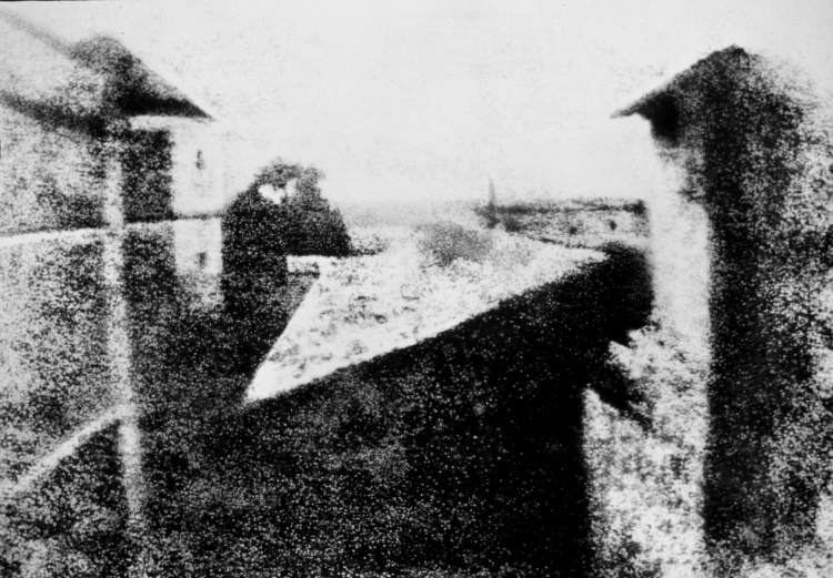 View from the Window at Le Gras (1826-7)