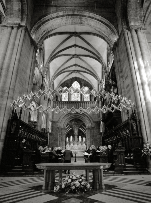Hereford cathedral choir stalls
