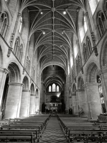 Hereford cathedral nave