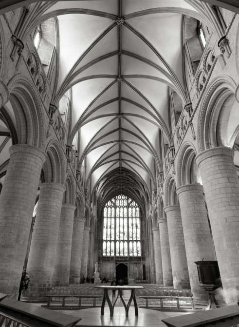 Gloucester cathedral nave West