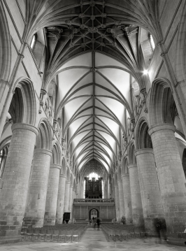Gloucester cathedral nave East