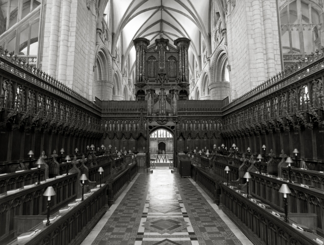 Gloucester cathedral quire