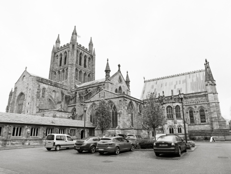 Hereford cathedral exterior