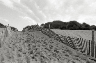 Croyde Bay sand dunes