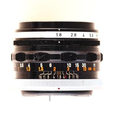 FL 50mm 1:1.8 I top