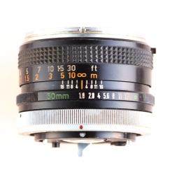 FD 50mm 1:1.8 I top