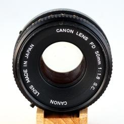 FD 50mm 1:1.8 S.C. II front