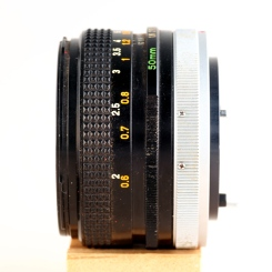FD 50mm 1:1.8 S.C. II left