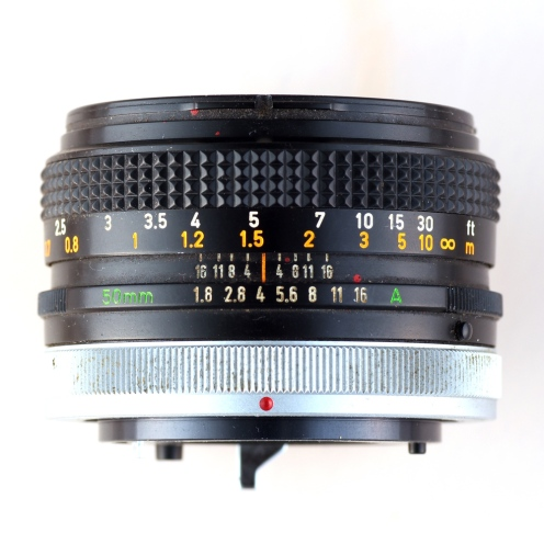FD 50mm 1:1.8 S.C. II top
