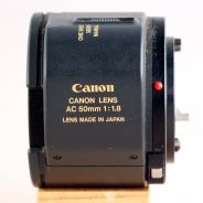 AC 50mm 1:1.8 left
